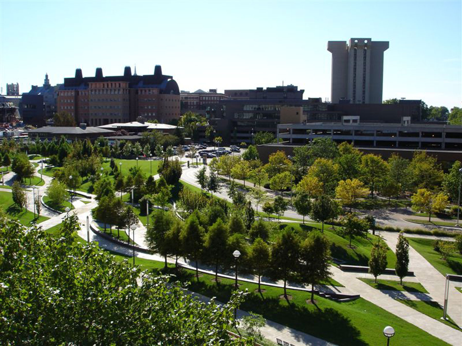 Campus Green, University of Cincinnati, Cincinnati, Ohio
