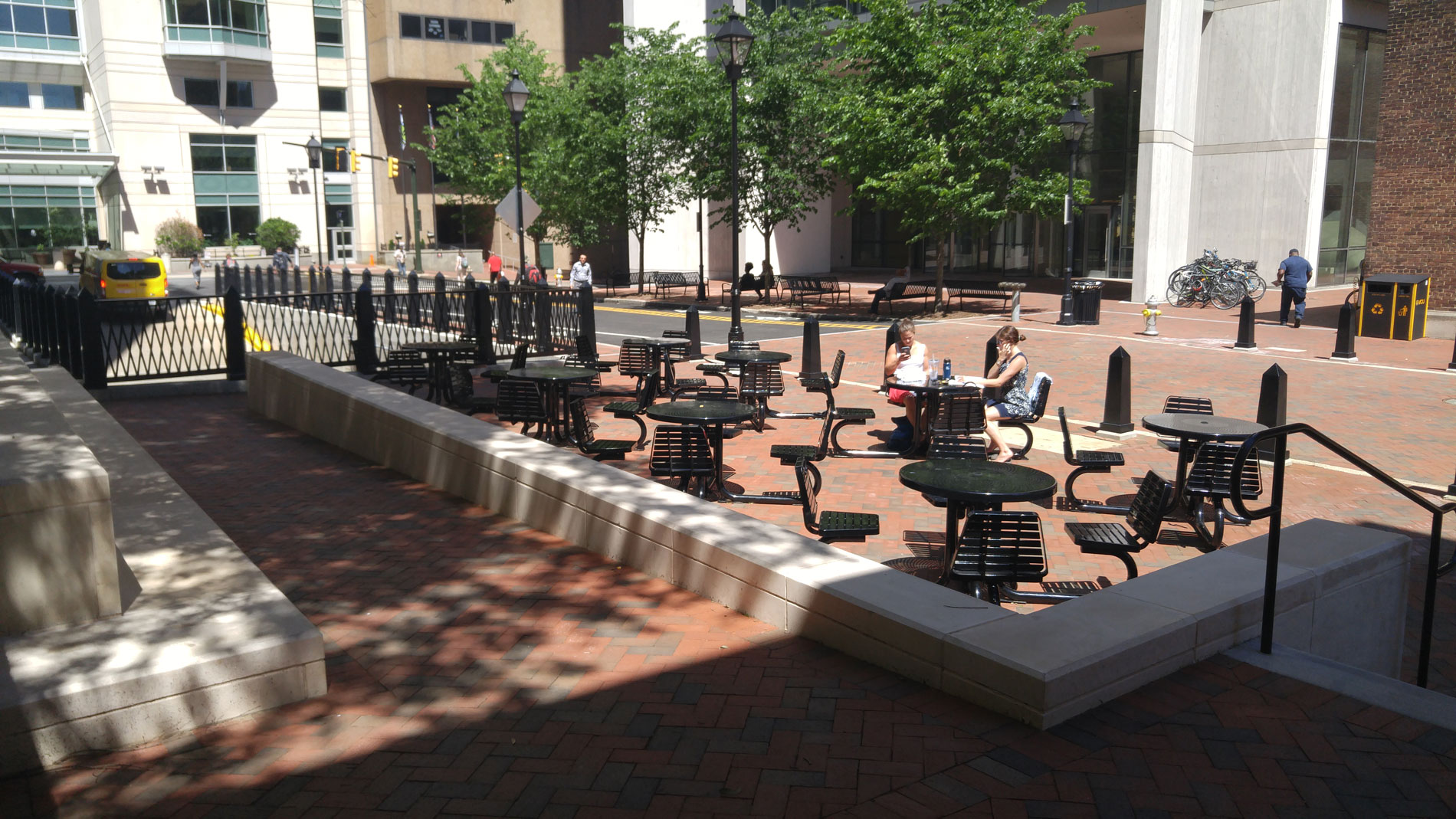 Pedestrian Commons, Virginia Commonwealth University, Richmond, Virginia